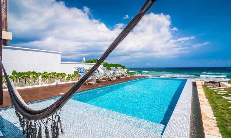 Tulum Area BeachFront Contemporary - Villa Amara