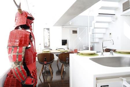 SHIBUYA 4min/110㎡/3BRS/SAMURAI ROOM - Lägenhet