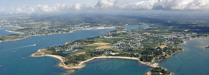 Appartement calme dans le golfe du Morbihan