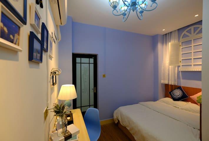特价房/经济房/广州南站/长隆/地中海风格1.5米大床房