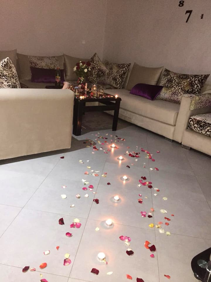 Apartment with one bedroom in Agadir, with WiFi - 4 km from the beach