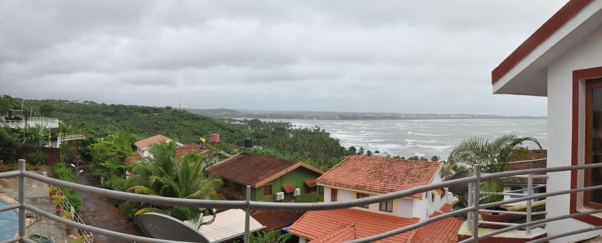SEA VIEW Villa(Cluster 3Villas) KUBER SEA VIEW GOA - Nerul - 別荘