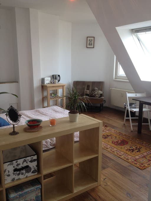Newly renovated with a nice cosy feel