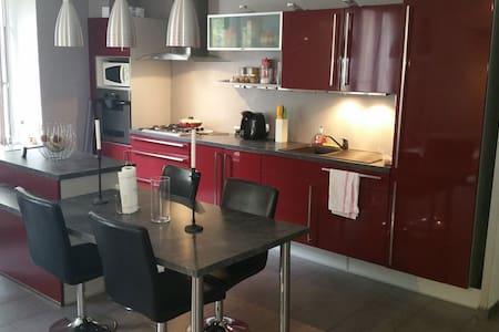 Grand appartement à 10 min Grenoble - Domène - Leilighet