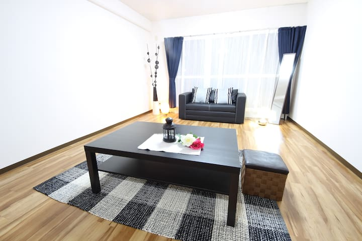 N1:Spacious apt,3min to the station