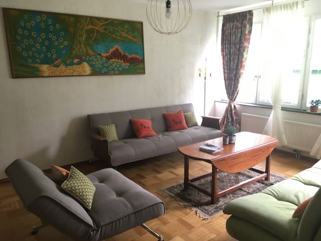 Cute & cosy abode 10 mins from hipster Södermalm