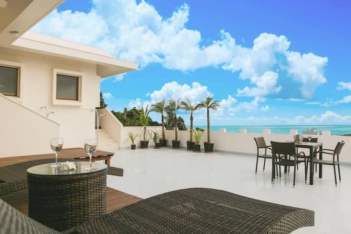 ★【OceanView Okinaw Villa】★Superb view★ hospitality