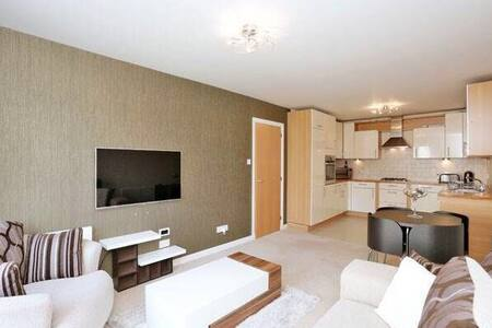 Modern 2BR Apartment - Sleeps 4 - Aberdeen - Apartamento