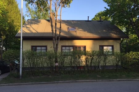 A large house with a garden, centre - Lappeenranta