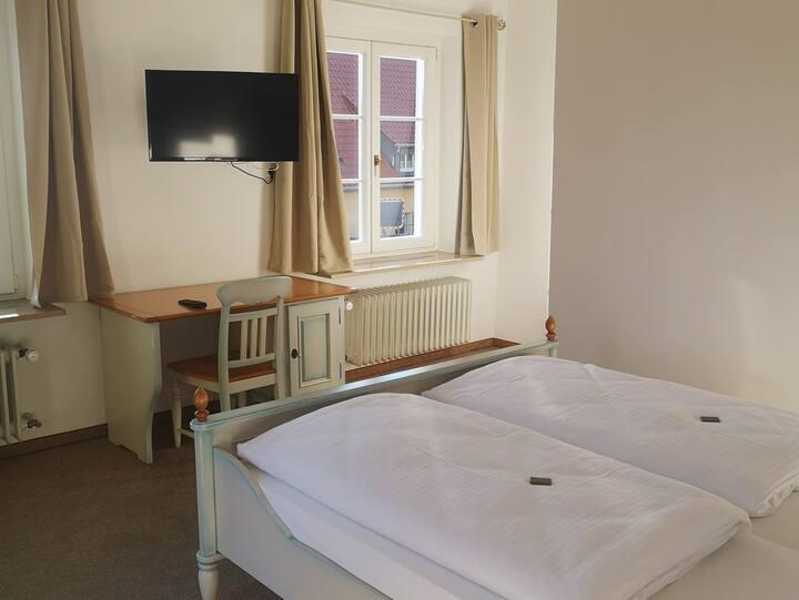 Hotel auf d' Steig, (Lindau am Bodensee), Komfort Doppelzimmer mit Balkon