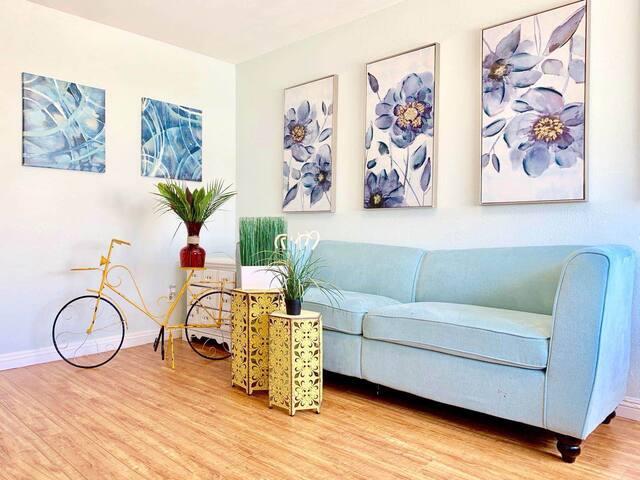 Ins style cozy 2Bedroom apt downtown San Gabriel