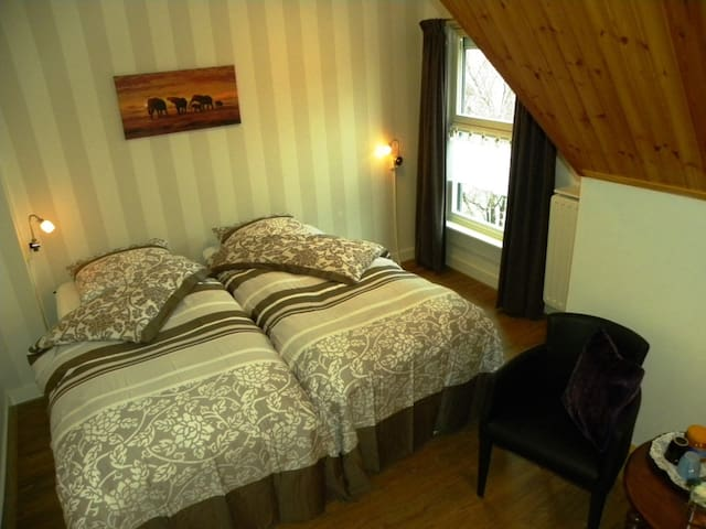 -Kamer Huize Diepenheim- Bed en Breakfast Reggedal - Diepenheim - Bed & Breakfast