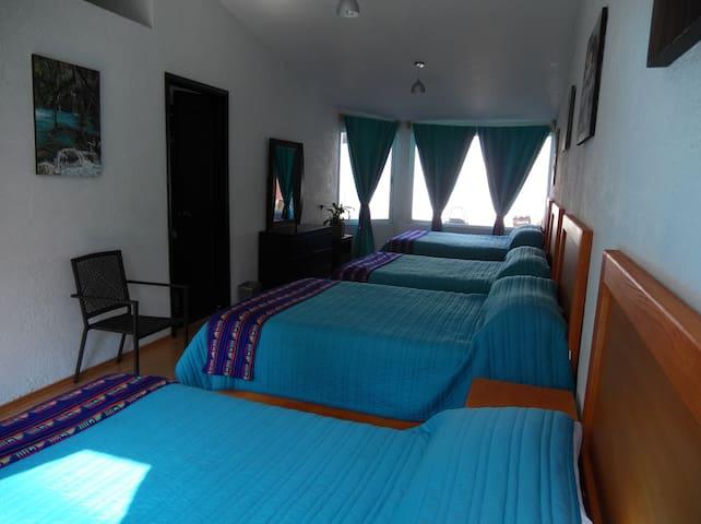 habitacion sac-nicte Casa Culhuac