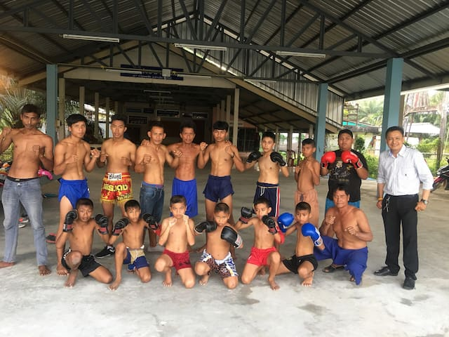 Thai boxing home at sea 2