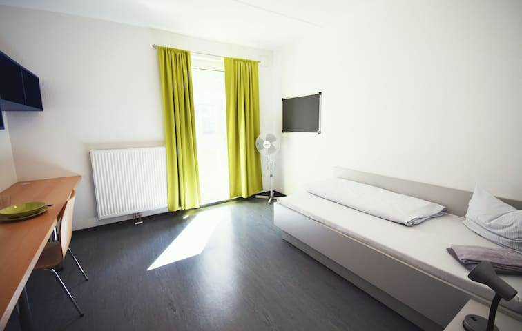 Einzimmerapartment im Campus-Gästehaus