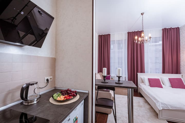 Уютные и  комфортные апартаменты на Гороховой