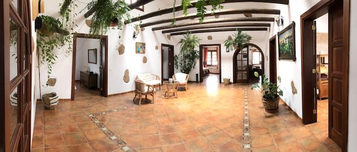 Casa Rústica Canaria.