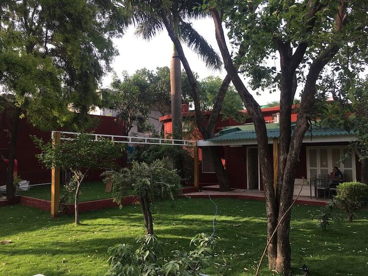 Sunny Villa - Lawns, Light, and Luxury