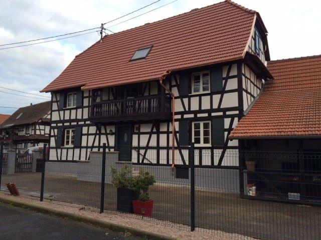 Maison Alsacienne de 2 à 10 personnes.