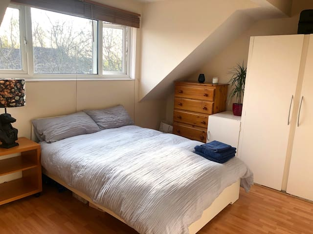 Lovely Double Room in Light and Spacious Flat
