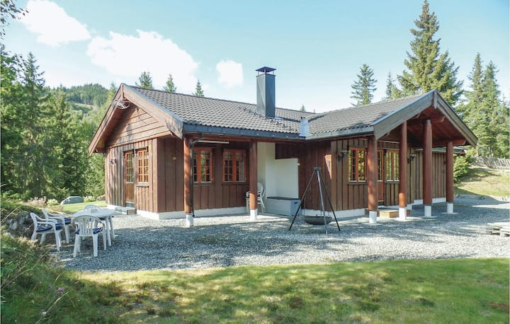 Nice home in Reinli with Sauna, WiFi and 3 Bedrooms