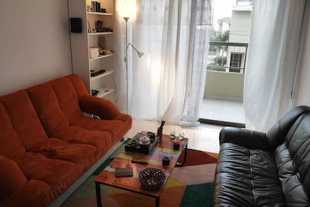 Spacious flat with seaview (1 bedroom available) - Limassol