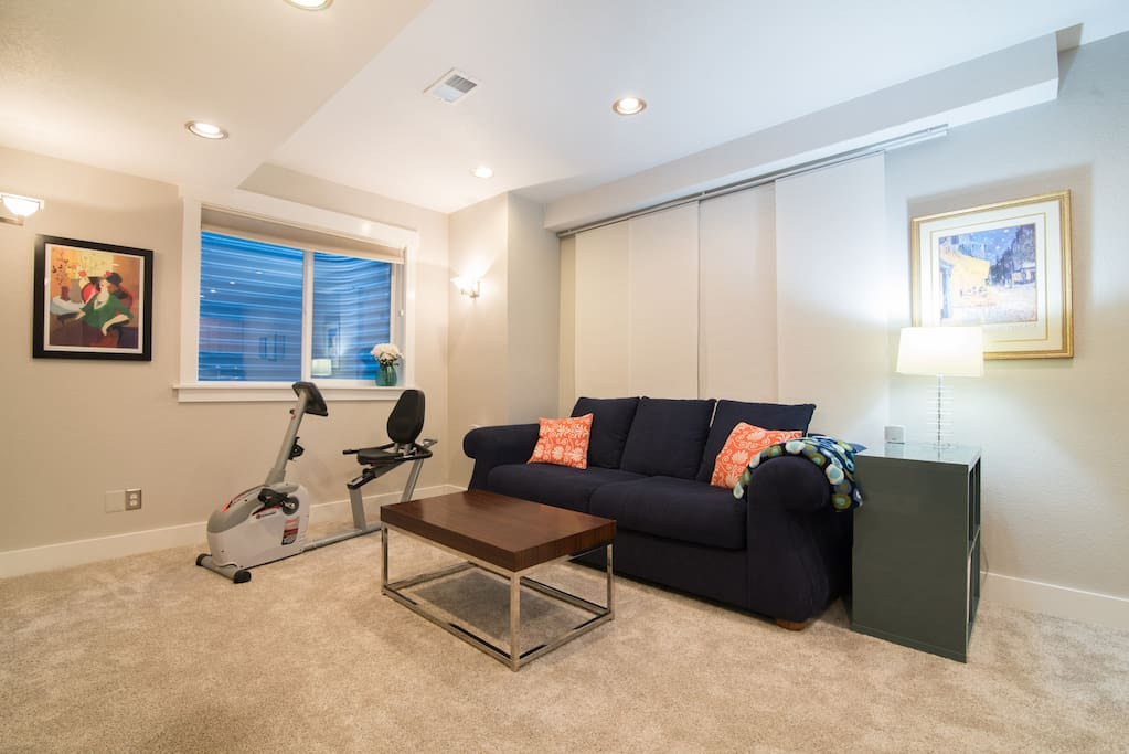 recently remodeled basement suite in stapleton houses