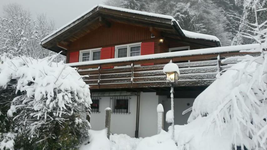 2-Zimmer Holzchalet oberhalb Ebnat-Kappel