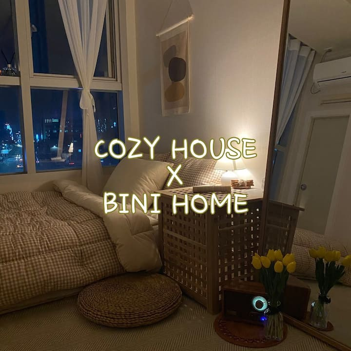 New :) 5 min stn / healing cozy home -: