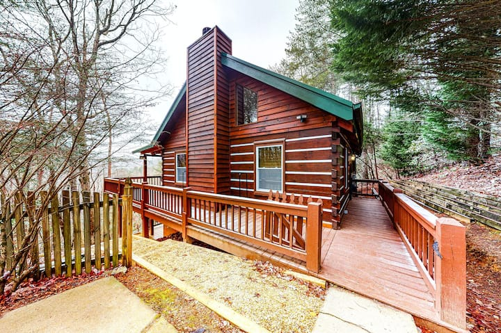 Idyllic Dog-Friendly Gem W/ Game Room, Wraparound Deck & Wood-Burning Fireplace