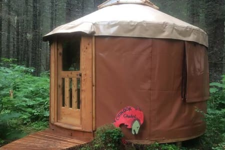 Alaskan Yurt in Fairy Tale Forest-Funky Fox Hole