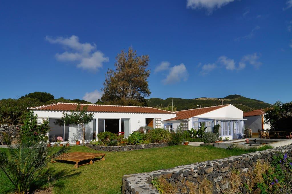 Quinta Graciosa - Casa Bela Vista (links) und Casa Velha (rechts)