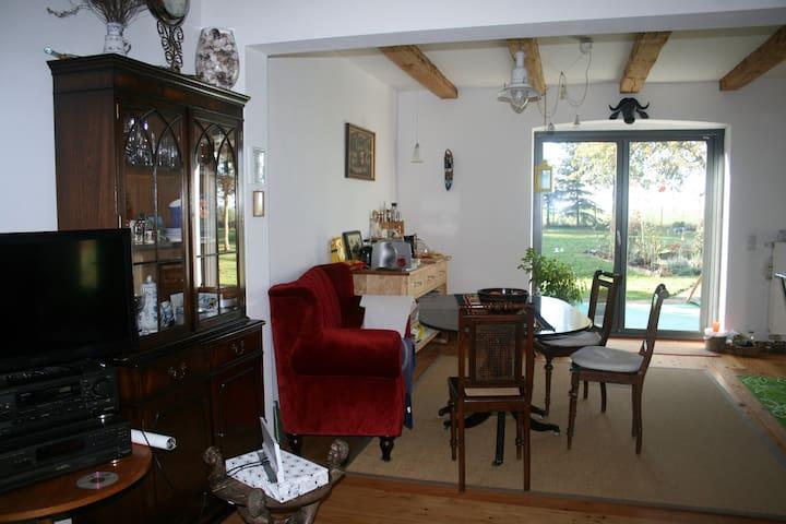 Haus auf Rügen, am Bodden - in ländlicher Idylle