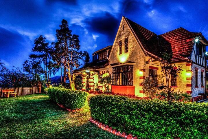 金马仑高原梦莱别墅,一个有历史的英式大别墅