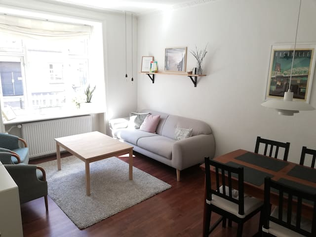 Apartment on Frederiksberg perfectly located