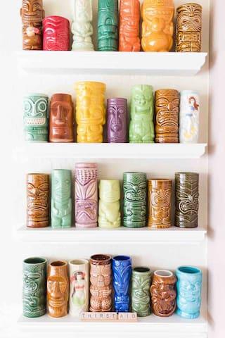 Vintage Tiki mug collection