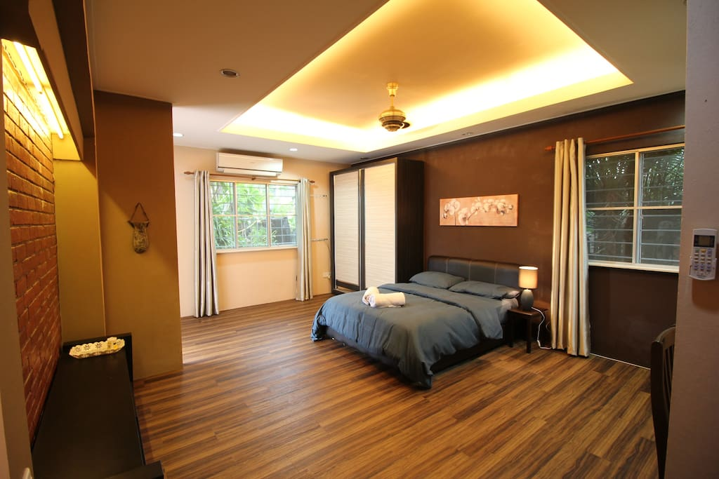 Comfortable and Big Bedroom