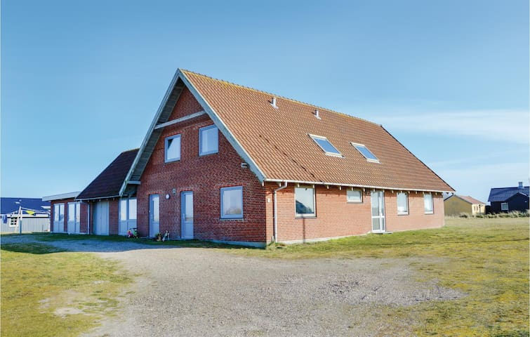 Holiday apartment with 1 bedroom on 60m² in Hvide Sande