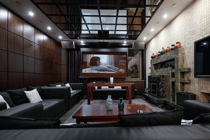 Premium 4BR apartment with a huge jacuzzi