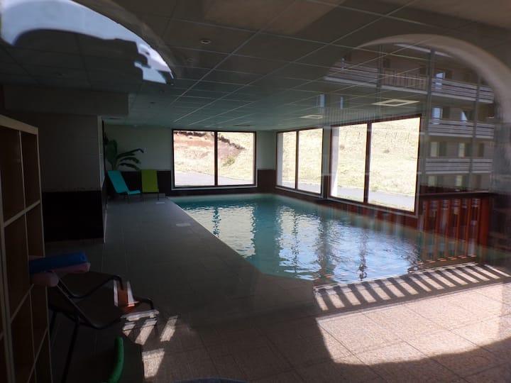455C Appartement 2 piéces 4 personnes avec piscine