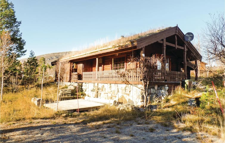 Holiday cottage with 3 bedrooms on 75m² in Hovden