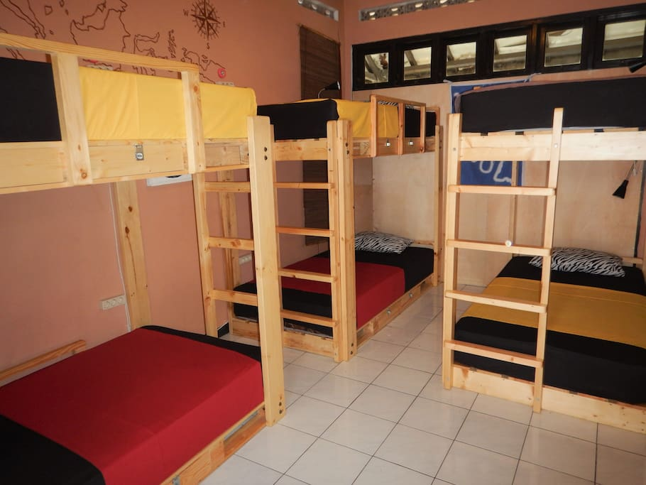6beds dormitory