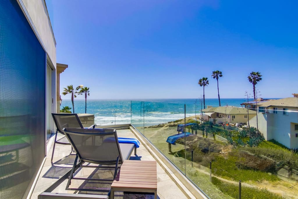 Gorgeous ocean and sunset views from the Master Suite private balcony