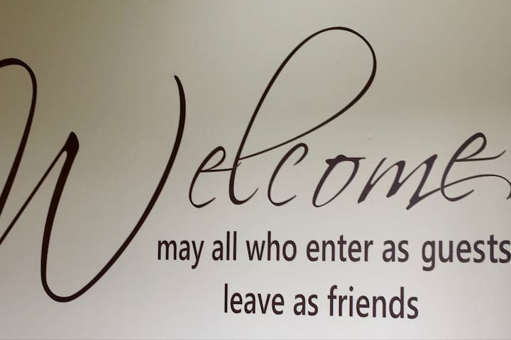 A warm welcome awaits you at High Toft