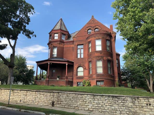 East side of Mansion.