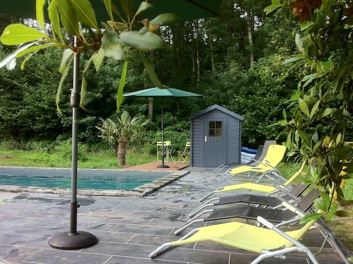 grande maison familiale - piscine sécurisée