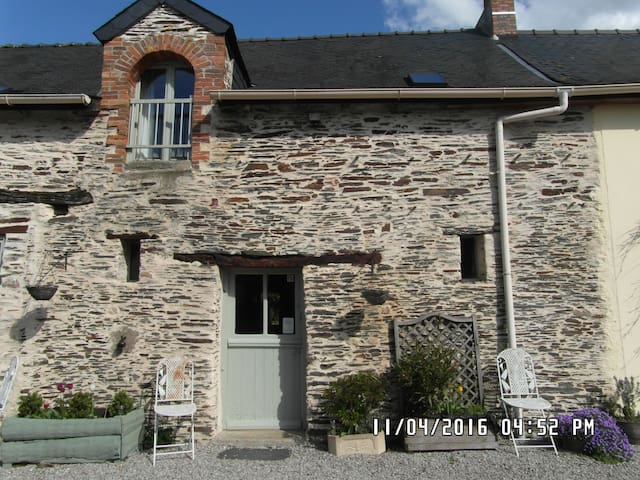 The Cottage - Rural Gite close to Chateaubriant. - Saint-Julien-de-Vouvantes - Casa