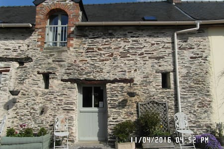 The Cottage - Rural Gite close to Chateaubriant. - Saint-Julien-de-Vouvantes