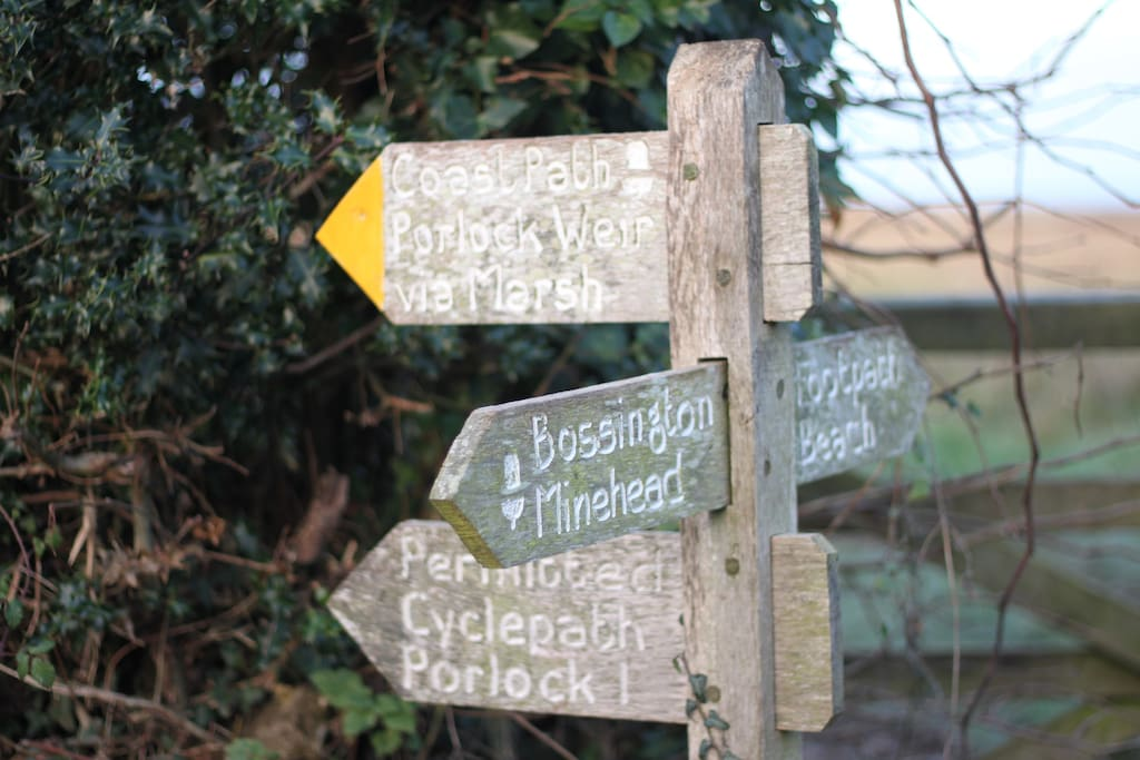 Fabulous walks on Exmoor and the coast from the cottage door.