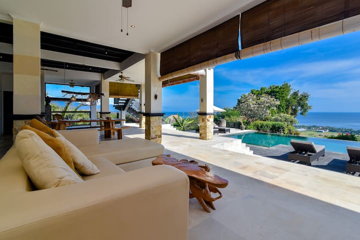 5* LUXURIOUS HILL VILLA WITH 180° AMAZING VIEWS